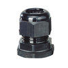 Cable glands, black, degree of protection IP 66 / IP 67 (960 °C)