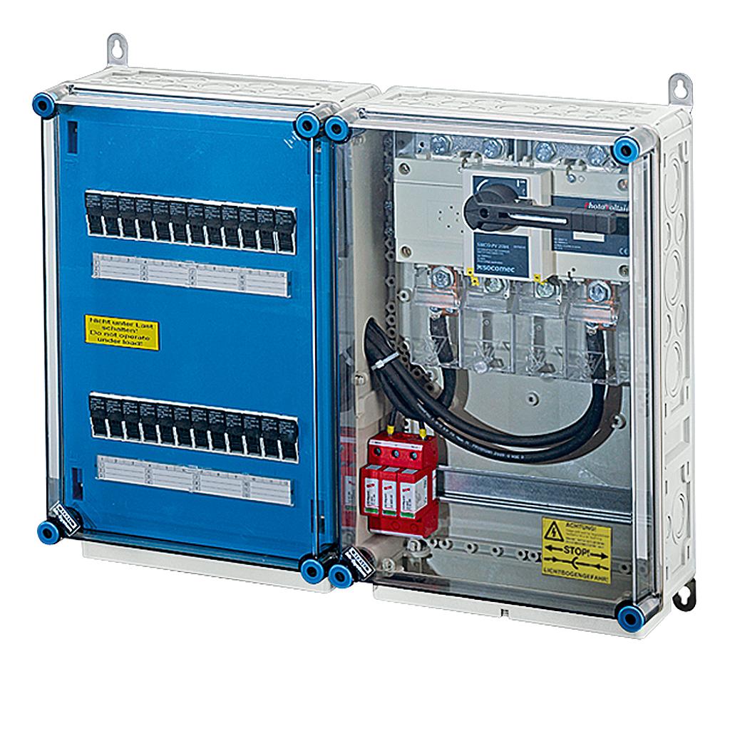 Pv Generator Junction Boxes Hensel Home Wiring Distribution Box Mi 3621