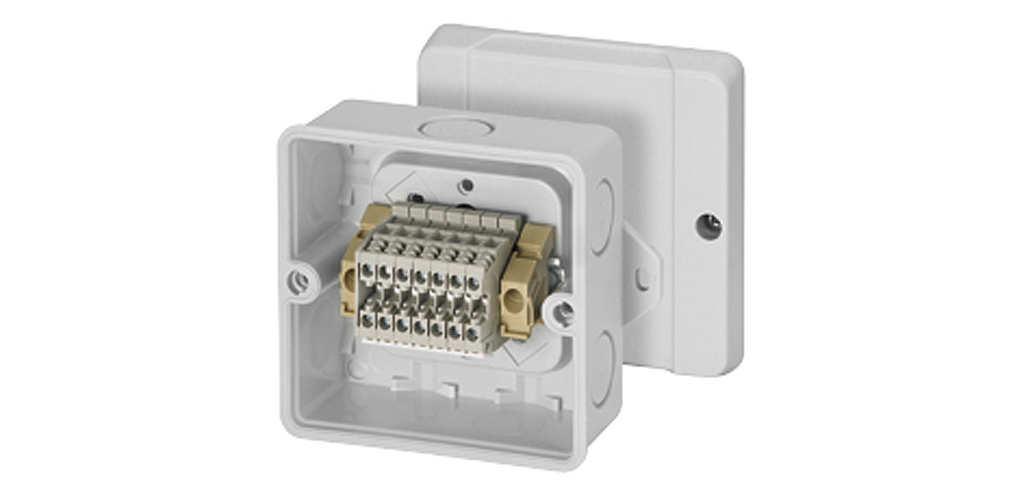 Cable Junction Box With Terminal Block Hensel