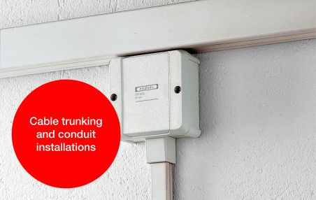 DK Cable junction boxes for cable trunking and conduit installation