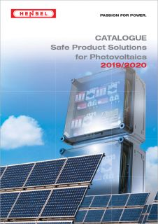Safe Product Solutions for Photovoltaics