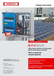 Grid-, on-grid- and off-grid-systeme