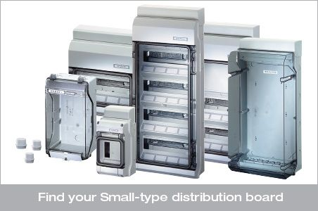 Find your Small-type distribution board