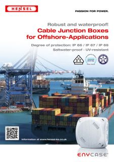 Cable Junction Boxes for Offshore-Applications