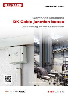 Cable Junction Boxes for cable trunking and conduit installation