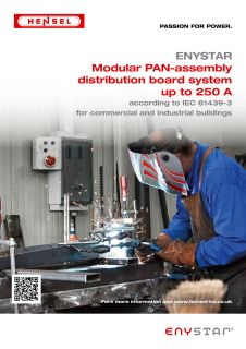 Modular PAN-assembly distribution board system up to 250 A